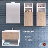GBGROUP комплект мебели для ванной OPEN 08