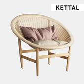 KETTAL  Indoor Basket armchair