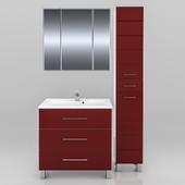 Мебель для ванной СанТа Омега 80 (в двух цветах)