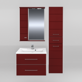 Мебель для ванной СанТа Омега 65 подвесная (в двух цветах)