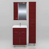Мебель для ванной СанТа Омега 60 (в двух цветах)