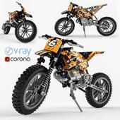 Lego Technic Moto Cross Bike