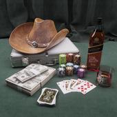 Cowboy Poker Set