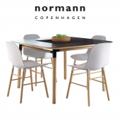 Normann Copenhagen Form Table and Chair
