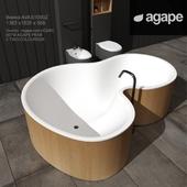 AGAPE ванна, унитаз, биде и смесители