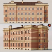 Фасад здания Санкт-Петербург Московский пр.87