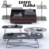 Ditre Italia Coffee Tables Set