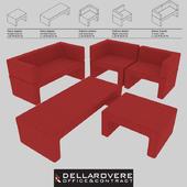 Della Rovere | ZIP | Office Waiting Sofas