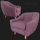 Claudia Fabric Armchair Littlewoods