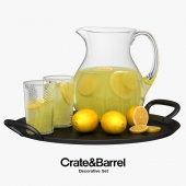 Crate & Barrel - Decorative Set