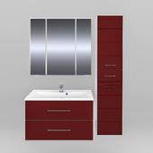 Мебель для ванной СанТа Омега 80 подвесная (в двух цветах)