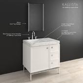 Мебель в ванную KALLISTA Vir Stil® (by Laura Kirar)