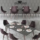 Diamond dinning set