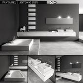 Bathroom furniture set Panta Rel
