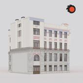 Фасад здания Санкт-Петербург Московский пр.89