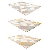 Teppich Pastel Geomet