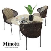 Aston cord outdoor and table claydon Minotti                       LT