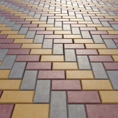 Paving stone rectangular