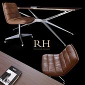 Restoration Hardware | Griffith Chair & Maslow desk