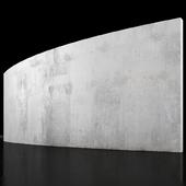 Concrete wall 6m long
