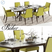 Baker Vienna Table and Abrazo Chairs