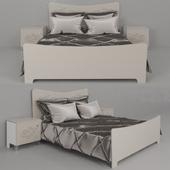 Кровать и тумба прикроватная  от  Пинскдрев