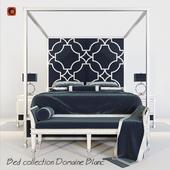 Кровать collection Domaine Blanc