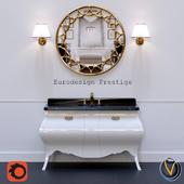 Комплект мебели для ванной комнаты Comp.n.3 Eurodesign Prestige
