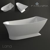 Акриловая ванна Favenitia Lana