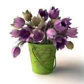 Букет цветов сон-трава