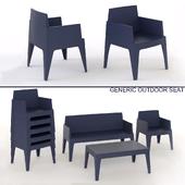 generic outdoor seat