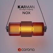 Подвесной светильник Karman NOX