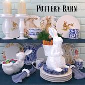 Набор посуды Pottery Barn BUNNY