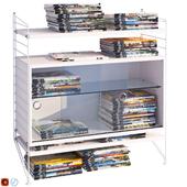 Система хранения String System и журналы 113 шт.