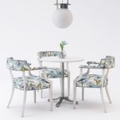 Restaurant furniture set 01