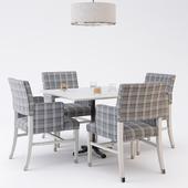 Restaurant furniture set 02