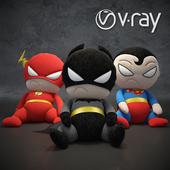 Мягкие игрушки-супергерои из вселенной DC
