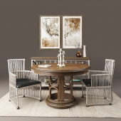 Dining table and chairs the firm Stanley Furniture