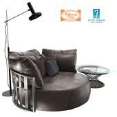 SCARLETT_Round sofa