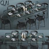 Glas Italia table set