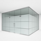 Office glass partition 2