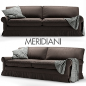 Conny (Connery) sofa by Meridiani