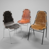 Les Arcs Chair by Charlotte Perriand