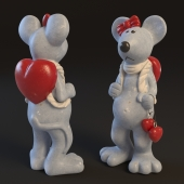 figurine mouse