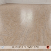 CHALKED BLONDE OAK PARQUET