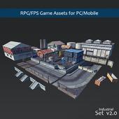 RPG/FPS Game Assets for PC/Mobile (Set v2.0)