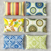 Rectangle Outdoor Accent Pillows