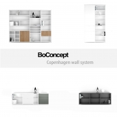 BoConcept Copenhagen wall system   set 7