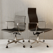 Office chair Eames Ribbed.Charles & Ray Eames