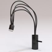 Black mixer for sinks DecorIKO FB-01